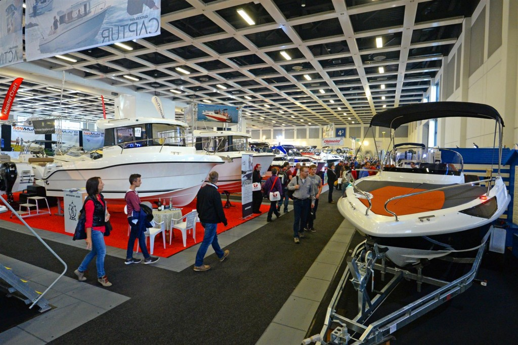 BOOT & FUN BERLIN 2016 - Blick in Halle 4.2 -